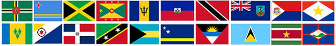 ipcaribbean flags